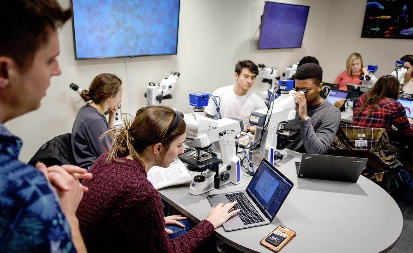 lab students photo