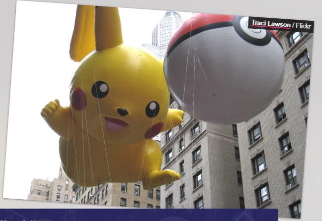 pokemon parade baloon